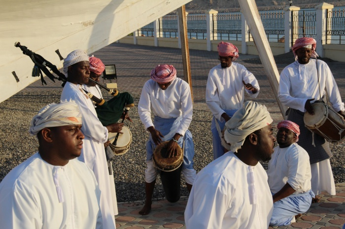 Sea Music in Sur, Oman by Rolf Killius